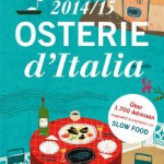 """Slow Food Editore: """"Osterie d' Italia 2014/2015"""""""